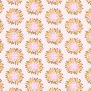 Pink Abstract Floral