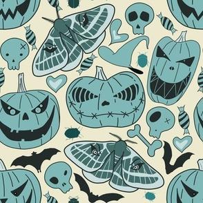 Halloween pastel pumpkins