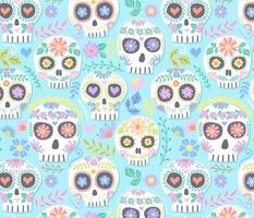 floral skull 4