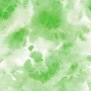 Chartreuse green watercolor texture - abstract modern wash tie diy - watercolour loose paint a424-3