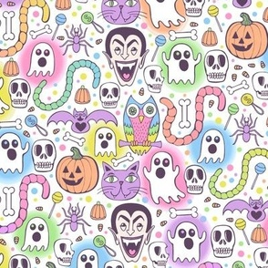 Halloween Mish-Mash//Small Scale