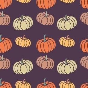 Pumpkin Patch Stripes Of Autumn