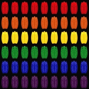 Rainbow Pride Shield Bugs