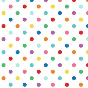 XXL rainbow fun polkas