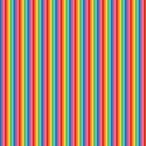 ultra tiny rainbow fun stripes no2 vertical
