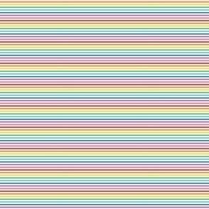 ultra tiny rainbow fun stripes no1 horizontal