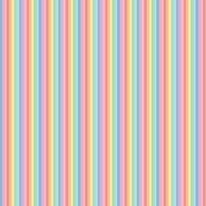 ultra tiny pastel rainbow fun stripes no2 vertical