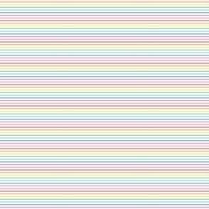 ultra tiny pastel rainbow fun stripes no1 horizontal