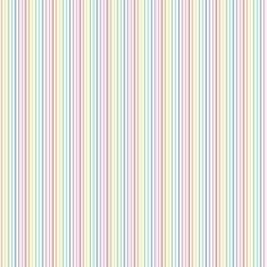 ultra tiny pastel rainbow fun stripes no1 vertical