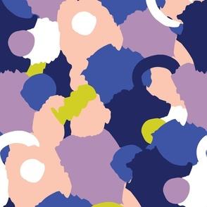 Abstract Splotch Coral - Nerida Hansen