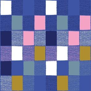 Spotted Gingham Blues - Nerida Hansen
