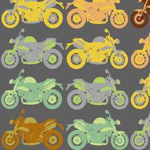 Motorbike medley - diagonal