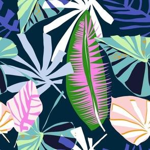 Paper Palm Navy - LillianFarag for NeridaHansen