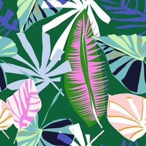 Paper Palm Green - LillianFarag for NeridaHansen