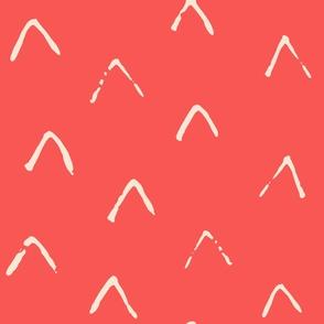 Arrow-wallpaper-coral