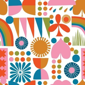 Rainbows - Lisa Congdon for Nerida Hansen