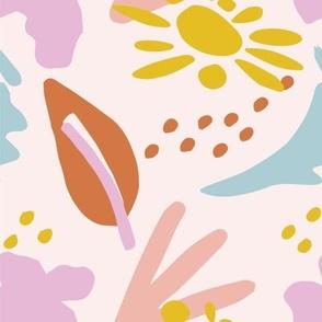 Abstract Fun Summer - Nerida Hansen