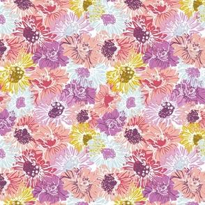 Bright Blooms Pinks - Nerida Hansen