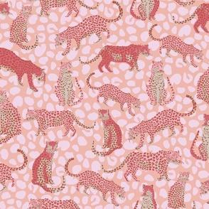 Cheetah Summer Pink - Nerida Hansen