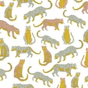 Cheetah Summer White