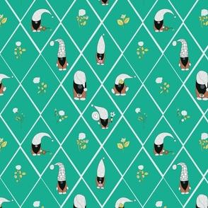 gnomerosegardeninbrightergreen