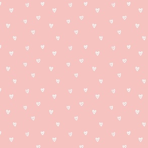 Little Hearts in Pink