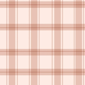Gingham Check in Beige