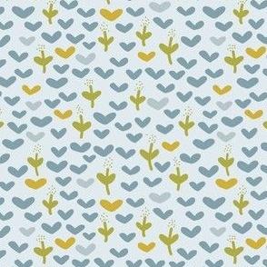 Blue-Tansy Blue dream- Cute Flower