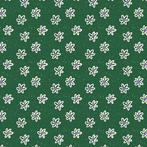 Vintage Floral in Green