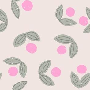 Sweet Berry in Beige