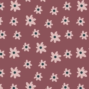 autumn mini floral pink