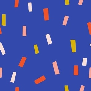 Confettis Blue - Jennifer Bouron for Nerida Hansen