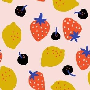 Fruits Blue - Jennifer Bouron for Nerida Hansen