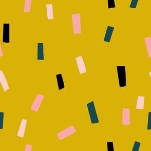 Confettis Lime Noir - Jennifer Bouron for Nerida Hansen