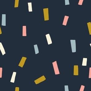 Confettis Noir - Jennifer Bouron for Nerida Hansen
