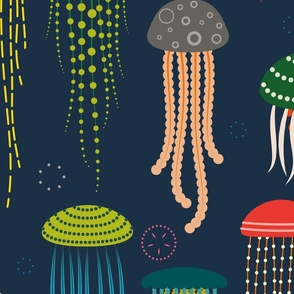 Just Jellies - Extra Large Fabric for Home Decor