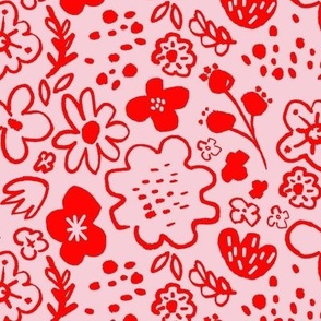Inky Floral