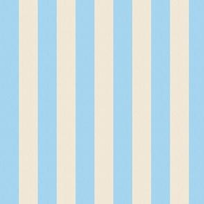 Light Blue and Cream Stripes (medium)