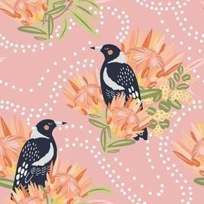 Clever Magpie Citrus - Christie Williams for Nerida Hansen