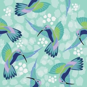 Hummingbird Midnight - Christie Williams for Nerida Hansen