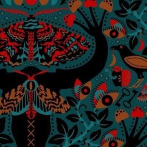 Moody Moth-Mares
