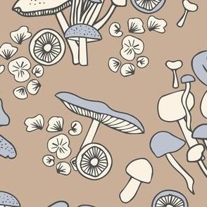 Mushrooms Bouquets Fungi Forest Woodland Cottagecore gender neutral