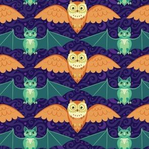 Midnight Flyers Halloween