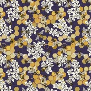 Save The Honey Bees - Medium - Purple