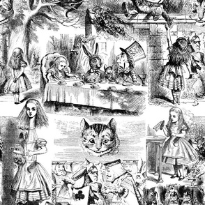 Curiouser and curiouser!  An Alice Toile