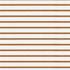 cream brown stripe