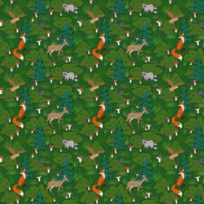 Woodlands Small Print