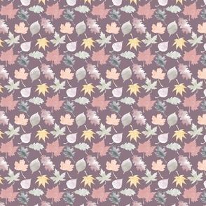 Mauve Leaves