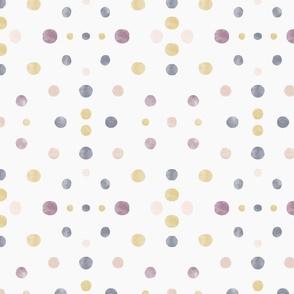 watercolour symmetry dots - medium