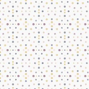 watercolour symmetry dots - small